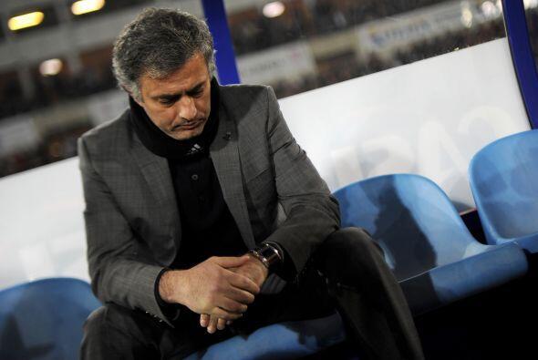Y así también se pudo ver a José Mourinho, que no e...