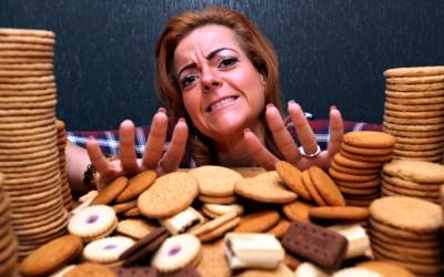 Dejó las galletas por sus hijos