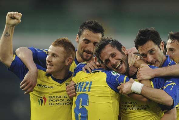 Para el sábado, el Chievo Verona superó por 2-0 al Livorno.