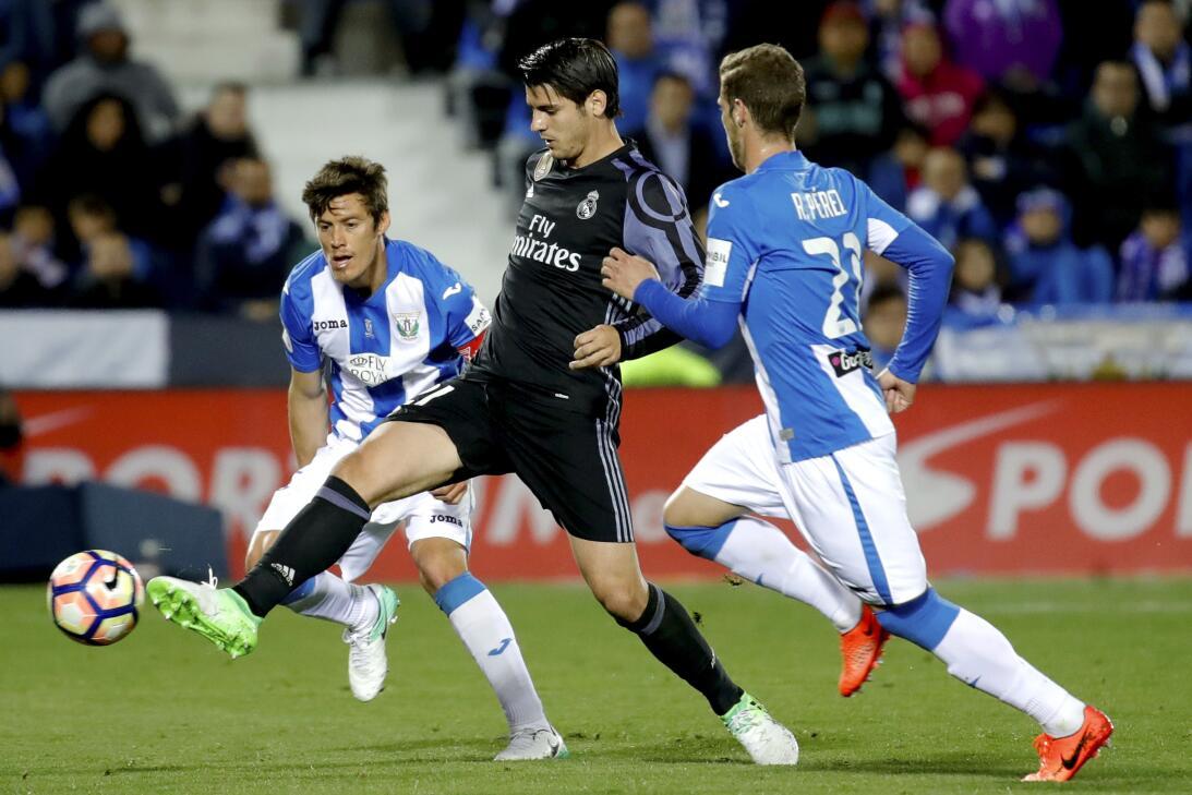 Los suplentes del Madrid con un gran Morata mantienen la ventaja sobre el Barça.