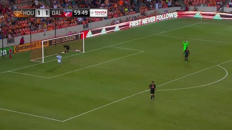 Gran pase de Maynor Figueroa para gol de Michael Barrios