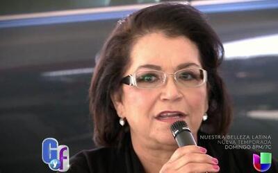 Doña Rosa Rivera se lanza a la cantada y reaccionó a las controversias q...