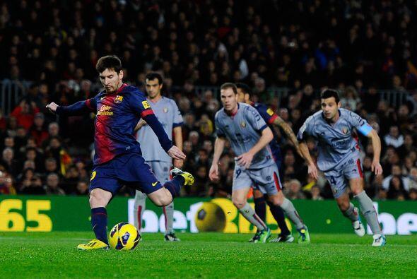 Sin embargo, al 28' repitió Messi con un tanto, esta vez por la vía del...