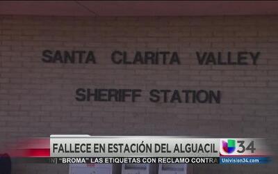 Muere mujer en estación policiaca en Valencia