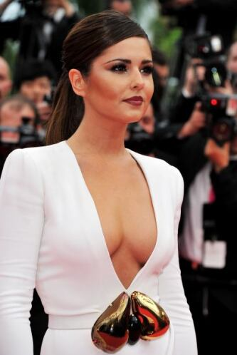 La guapísima inglesa Cheryl Cole ocupa el casillero número 9 en la lista...