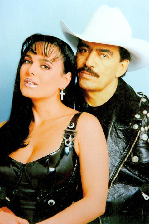 Maribel Guardia y Joan Sebastian