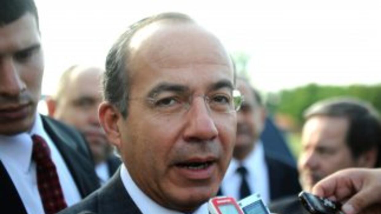 El presidente mexicano, Felipe Calderón, solicitó a las Fuerzas Armadas...