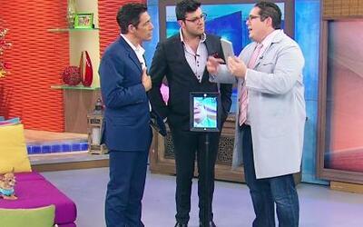 Ariel Coro sorprendió a Johnny y a Paul con la 'telepresencia'