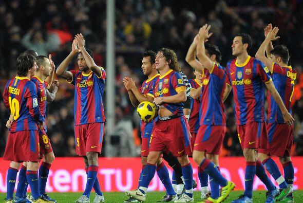 Barcelona se quedó con el triunfo por un humillante 5-0 y asumi&o...