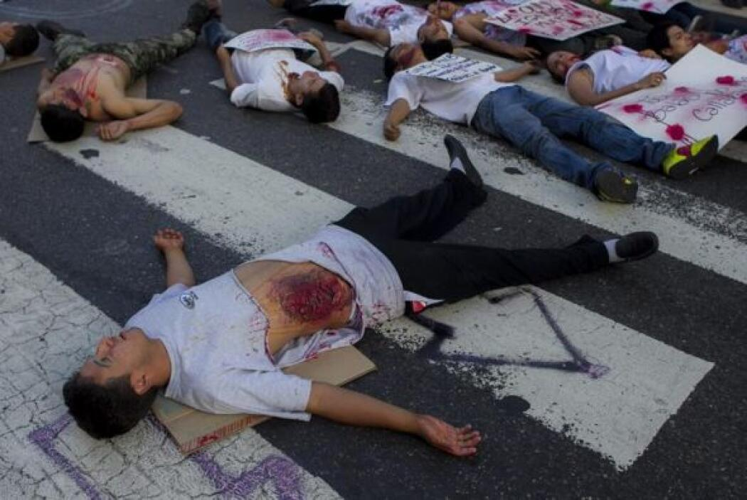 Con la muerte de este policía se elevan a 40 los muertos que han dejado...