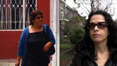 Nohemí y Mónica Sánchez