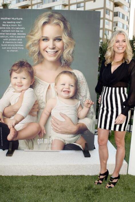 La ex-modelo y madre, Rebecca Rominj, ha participado varias veces y los...