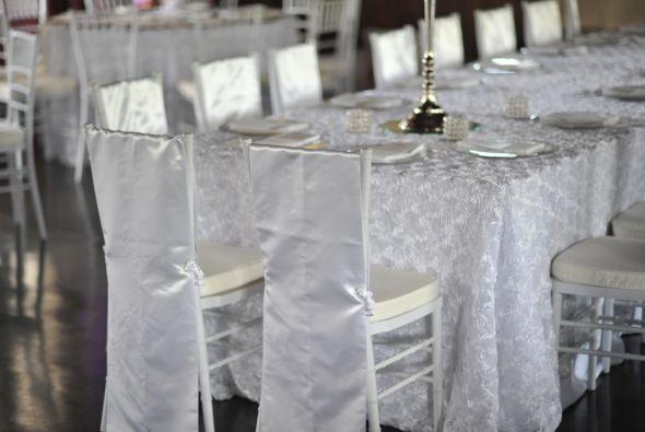 Nidia, la mamá del novio, fue la encargada de organizar toda la boda.