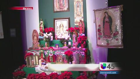 Festejando a la Virgen de Guadalupe