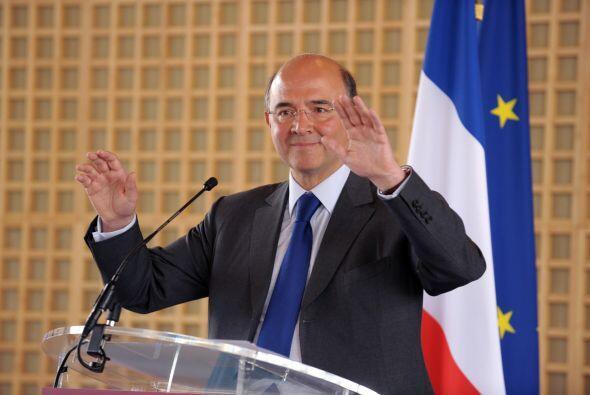 FRANCIA-  El ministro francés de Economía, Pierre Moscovici, se mostró s...