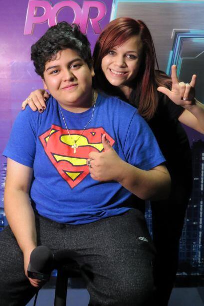 Con Ana Cristina Pagán.