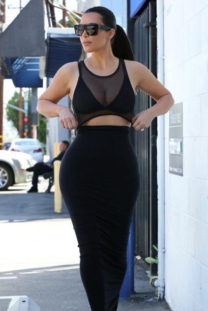 Pero los dos frentes de la Kardashian quedan revelados.