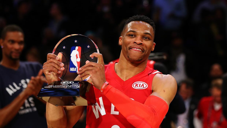 Westbrook logró 31 puntos en el partido