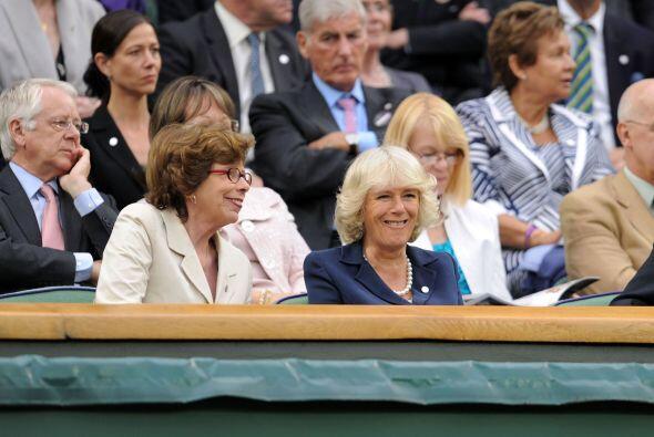 La esposa del príncipe Carlos de Inglaterra disfrutó del p...