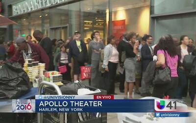 Apollo Theatre proyectará el debate presidencial entre Donald Trump y Hi...