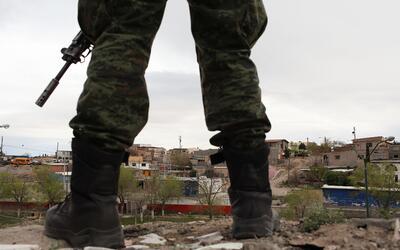 El Ejército regresó a Ciudad Juárez ante la ola de violencia.