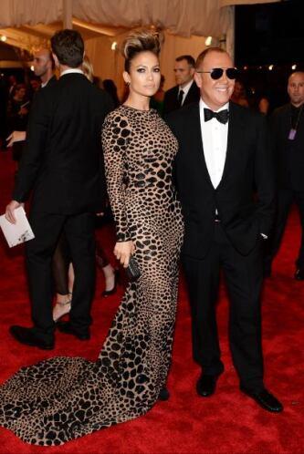 Michael Kors fue el encargado de diseñar el traje de la estrella.