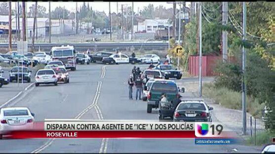 Ex convicto responsable de disparar a varios oficiales en Roseville