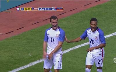 Lennon marcó el 3-1 de Estados Unidos ante Haití
