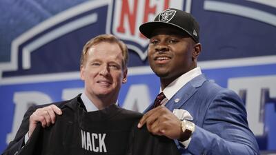 Los Raiders eligieron al LB Khalil Mack 5to global