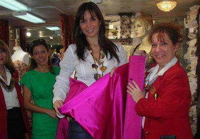 ¿Qué color será el que Giselle eligió para su próximo vestuario?