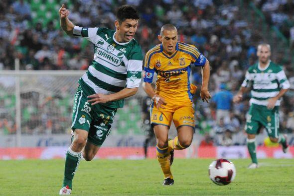 En el partido de semifinal de vuelta Tigres sacó el empate de la...