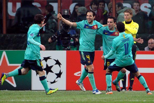 Victoria para el Barcelona por 3-2, con lo que amarró el primer l...