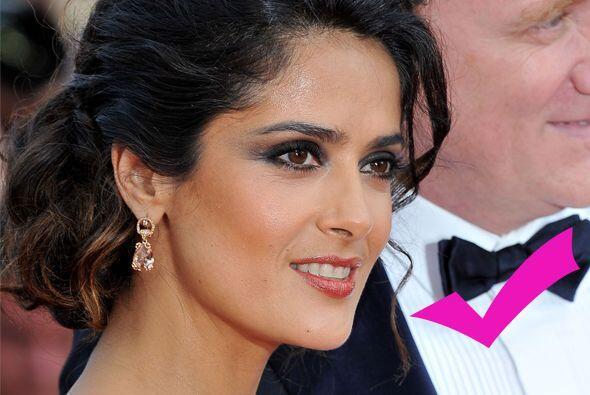 Pero Salma se pone más guapa con cada año que pasa, lo mis...