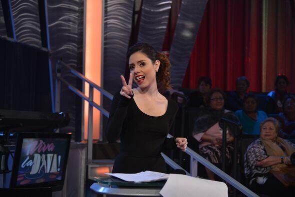 Quien más se divirtió en la competencia fue la grafóloga María Fernanda...