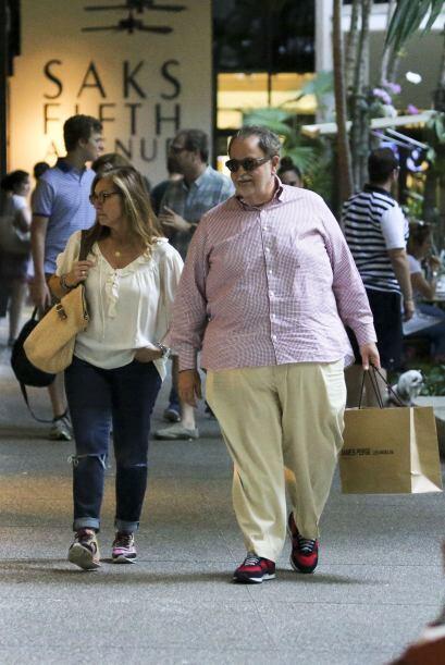 El Gordo ya llevaba una bolsa de una conocida marca de ropa, ¿ser...