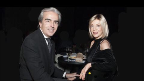 Edith González y su esposo Lorenzo Lazo.