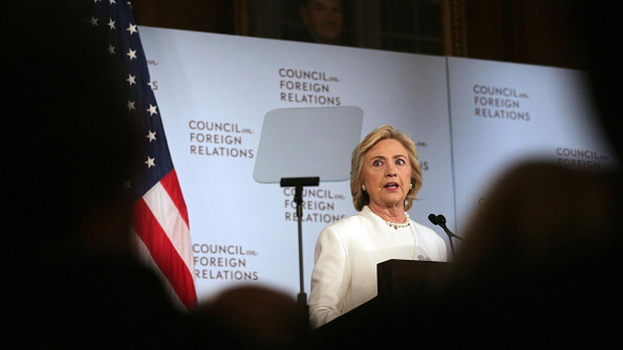 Hillary Clinton habla de su plan de seguridad y defensa en Washington