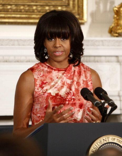 Michelle Obama también logró un exitoso cambio de 'look' e...