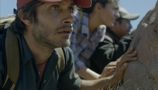 'Desierto' es la historia de un grupo de migrantes que enfrentan los pel...