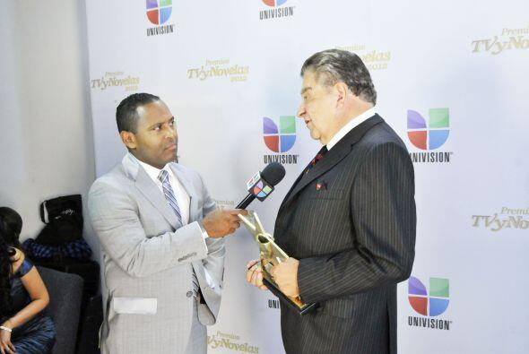 Tony Dandrades estuvo allí para hablar con Don Francisco.
