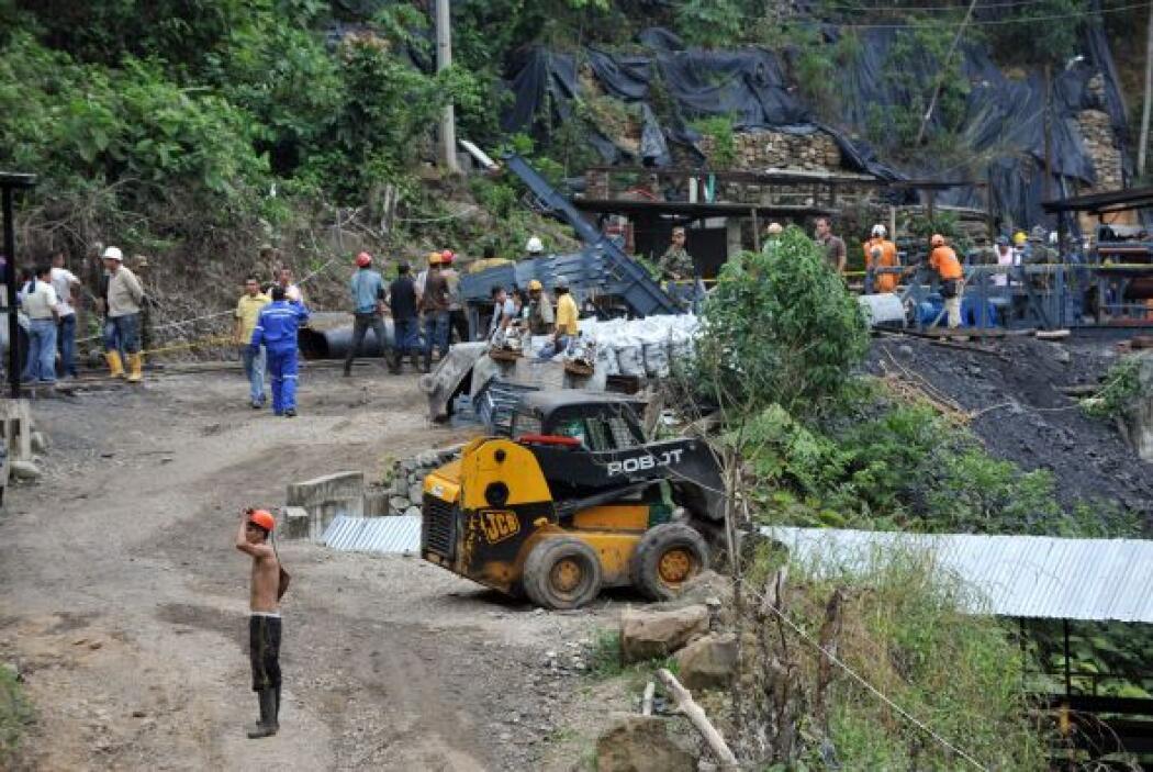 La explosión en una mina de carbón en el  norte de Colombia dejó al meno...