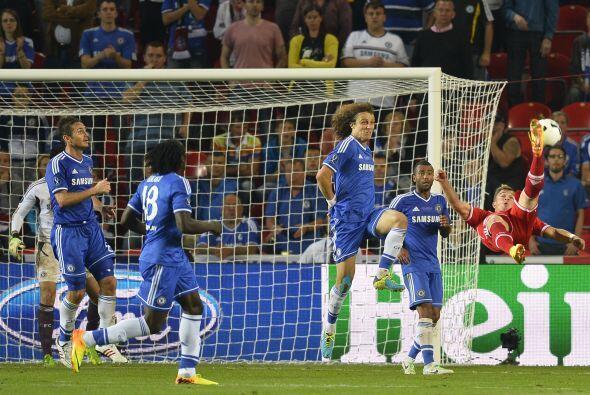 Con el marcador en contra el Bayern de Múnich se lanzó completamente al...