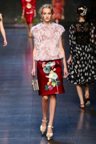 Dolce & Gabbana Milan Fashion Week 2013