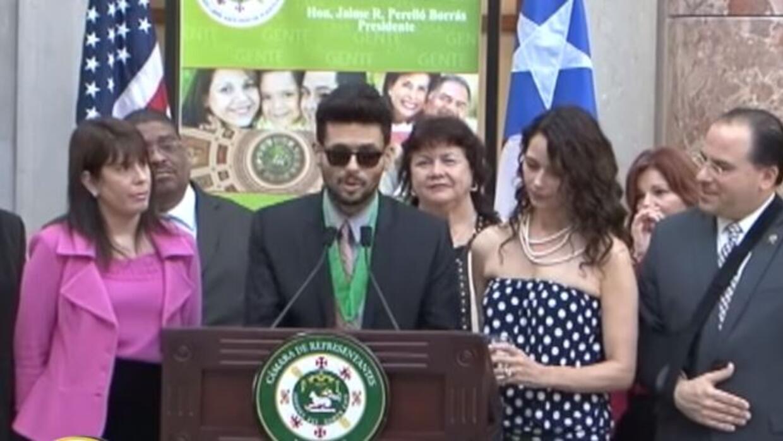 Homenaje a Robi Draco Rosa en la Legislatura de Puerto Rico