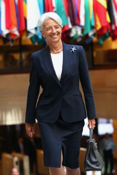 Este martes 5 de julio Christine Lagarde inicia sus actividades como nue...