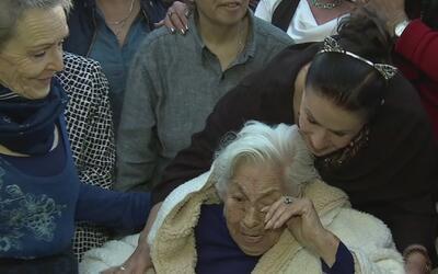La abuela de Laura Zapata, 99 años y cumpliendo sueños