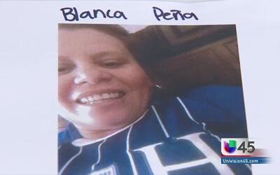 Cuerpo hallado sería de Blanca Peña