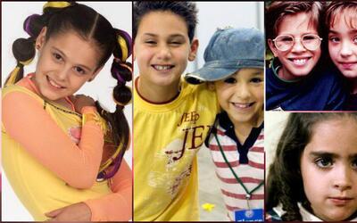 Niños protagonistas de telenovelas
