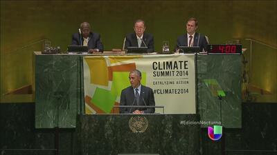Los líderes mundiales se reúnen en la Cumbre del Clima
