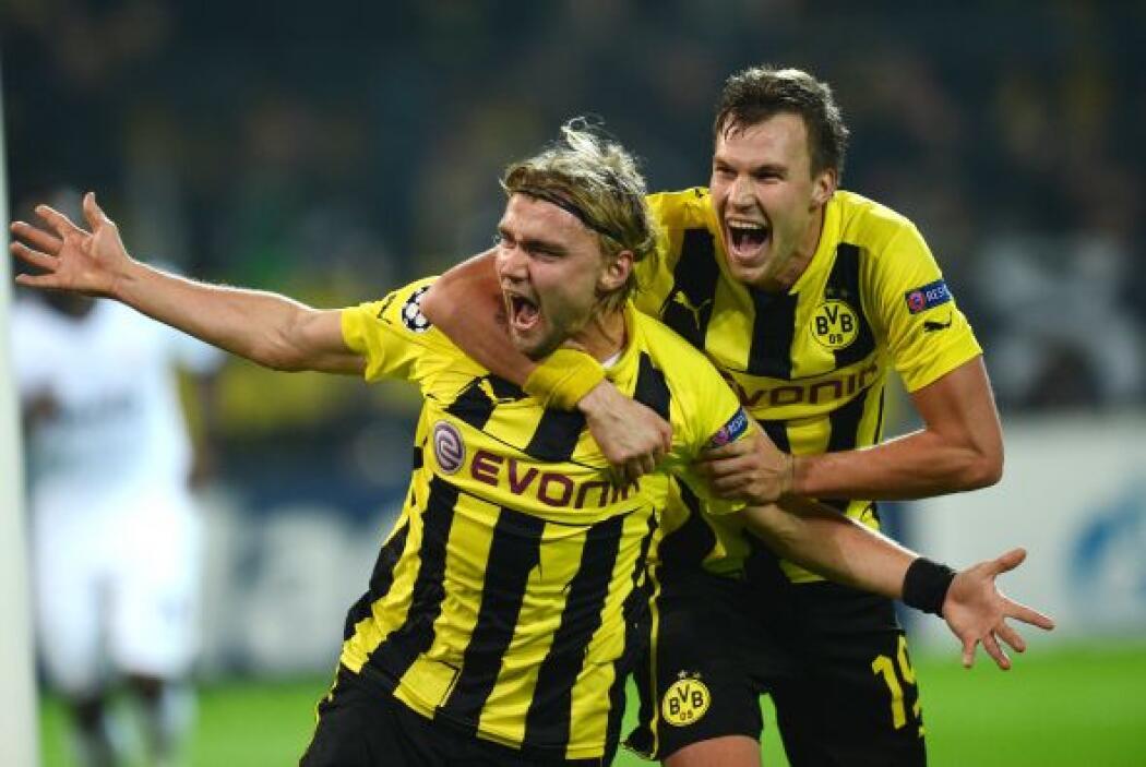 Pero ni las intervenciones de Casillas bastaron para que el Dortmund no...